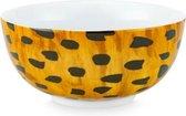 Fabienne Chapot set 6 bowls 'Cheetah spots' 15cm