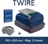 TWIRE® Verzwaringsdeken 10kg - 152x203cm – Queen Size