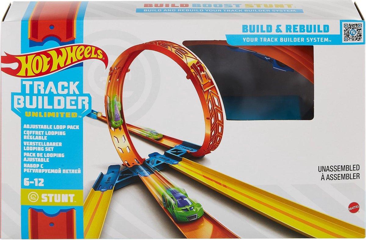 Hot Wheels Track Builder Aanpasbare loopingset