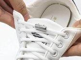 Elastische Veters - schoenveters - Niet meer strikken - Wit