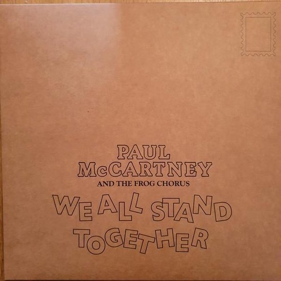 CD cover van We All Stand Together (Picture Disc) van Paul McCartney