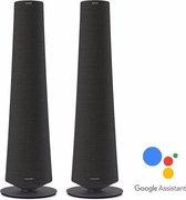 Harman Kardon Citation Tower - Zwart -  Speakerset met Google Assistant