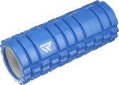 Rockerz Fitness® - Foam Roller - Foamroller - Foamrol - Fitness Roller - 33cm - Blauw