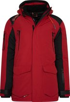 Wildstream - Heren Winterjas - Outdoorjas - Model Leeski - Red-Maat M
