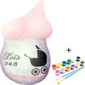 Gipsbuik pakket - Met 12 Kleuren Verf en Kwasten – Met Extra Groot en Sterk Gipsverband – Niet Toxisch - Baby Buik Zwanger