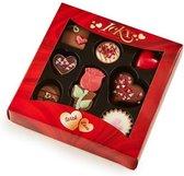 Chocolaterie Ickx Belgische Gevulde Valentijn Chocolade - 105 gram