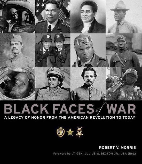 Boek cover Black Faces of War van Robert Morris (Onbekend)