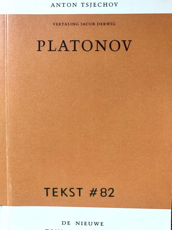 Boek cover Platonov Platonov van A.P. Tsjechov (Paperback)