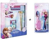 Disney Frozen Haar Accessoires Kam Borstel Elastieken Spelden Super set voor Meisjes Elsa Anna