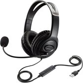 QY USB Koptelefoon Headset met Microfoon voor Gaming en Thuiswerken - PS5 PS4 laptop MacBook PC