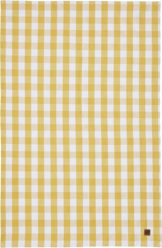 Ulster Weavers gingham geel theedoek