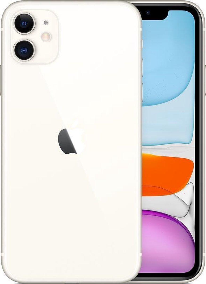 Apple iPhone 11 - Refurbished door SUPREME MOBILE - A grade (Zo goed als nieuw)- 128GB - Wit
