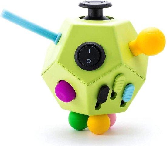 ZTWK© - Fidget toys pakket - Pop it regenboog - Mesh and marble - Pop it fidget toys - 12 stuks