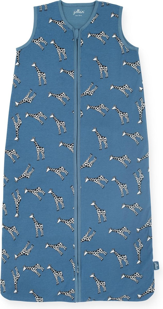 Jollein Giraffe Slaapzak zomer 90cm jeans blue