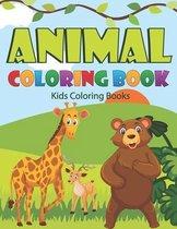 Animal Coloring Book Kids Coloring Books