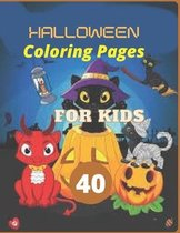 40 Halloween Coloring Pages for Kids