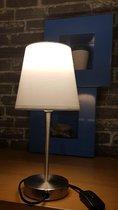 LifteTime tafel lampje voorzien van e14 (kleine) Fitting 240volt met schakelaar
