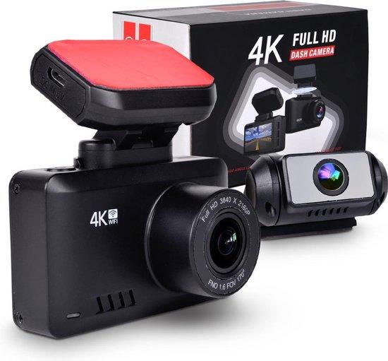 Zynos 4k Ultra HD Dashcam Voor Auto
