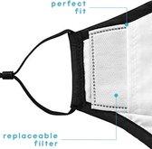 Afbeelding van Vervangbare mondkapje filters - 10 stuks | wegwerp (50 - 60uur gebruik) | PM 2.5 filters