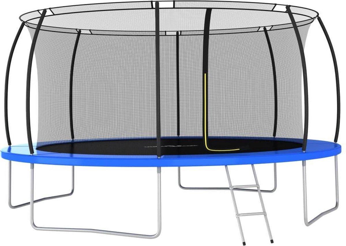 vidaXL Trampolineset rond 150 kg 460x80 cm