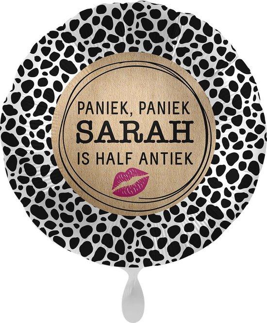 Everloon - Folieballon - Paniek, Paniek Sarah Half Antiek - 43cm