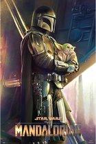 Mandalorian poster Star wars -premiejager -the child 61 x 91.5 cm