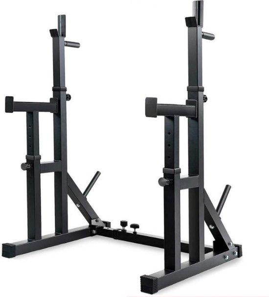 Dexters® Squat Rack   Power Rek   Haltersteunen   Krachtstation   Power Cage   Halterstandaard   Squat Stand   Fitness