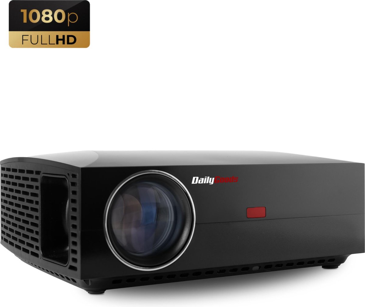Dailygoods Beamer FU30 - Projector - 4200 Lumen - Full HD - Wifi