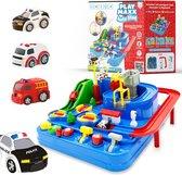 AutoStad - Auto Speelgoed met Accessoires - Helikopter - Politie - Ambulance - Brandweer - Jongens 3, 4 & 5 Jaar