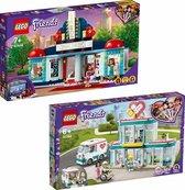 LEGO Friends Bundel - LEGO Friends 41448 Heartlake City Movie Theater + LEGO Friends 41394 Ziekenhuis