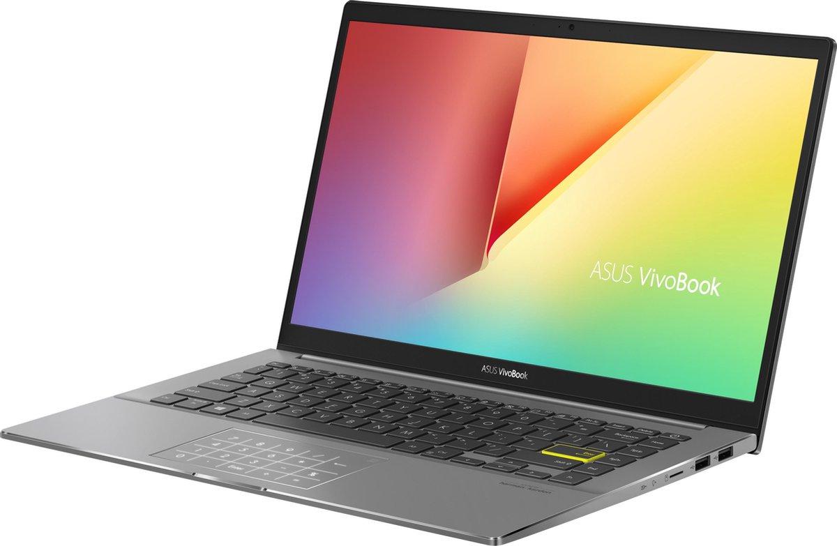 "ASUS VivoBook S14 S433EA-AM341T DDR4-SDRAM Notebook 35,6 cm (14"") 1920 x 1080 Pixels Intel® 10de generatie Core™ i7 16 GB 1000 GB SSD Wi-Fi 6 (802.11ax) Windows 10 Home Zwart"