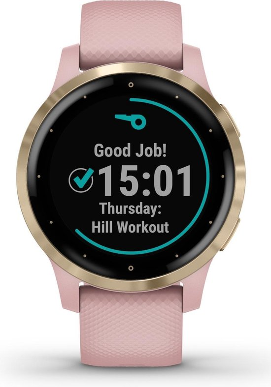 Garmin Vivoactive 4S - Smartwatch - 40 mm - Dust Rose