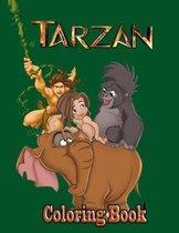 Tarzan Coloring Book