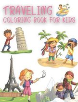 Traveling Coloring Book For Kids