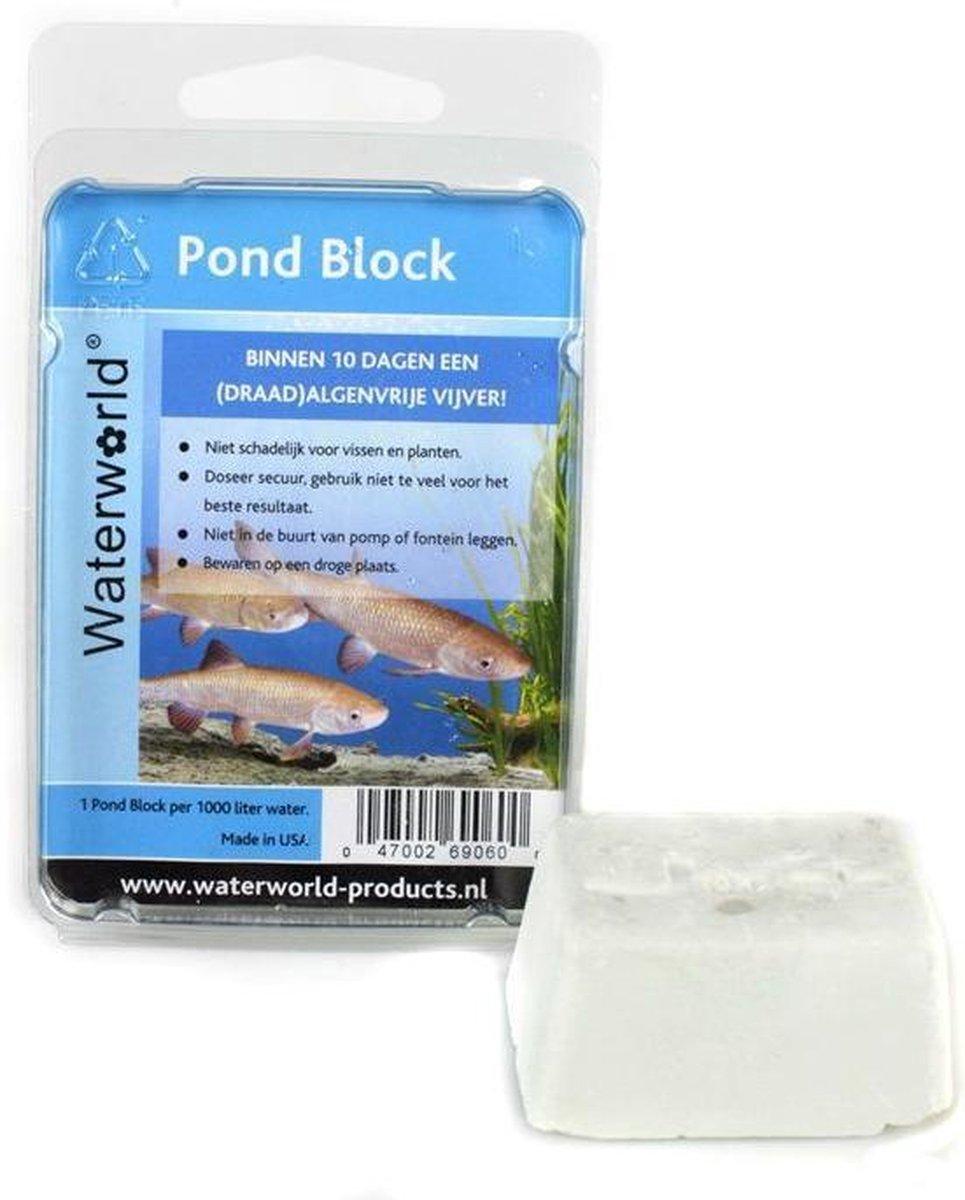 Pond Block Vijver Algenbestrijding - 1 blok per 1 m  water - Van der Velde Waterplanten