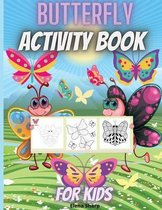 Butterfly Activity Book For Kids