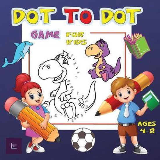 Dot to Dot Game for Kids Ages 4-8