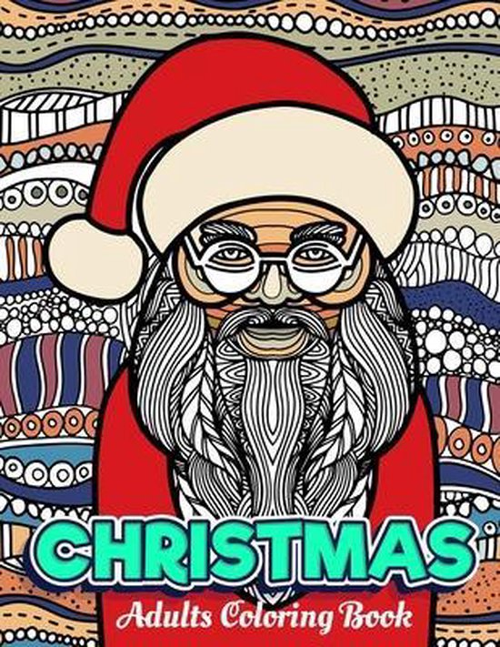 CHRISTMAS Adults Coloring Book