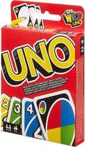 Mattel Games UNO Kaartspel, voor 2-10 Spelers, vanaf 7 Jaar
