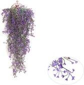 Kunst Hangplant – 85 cm Lang – Paars