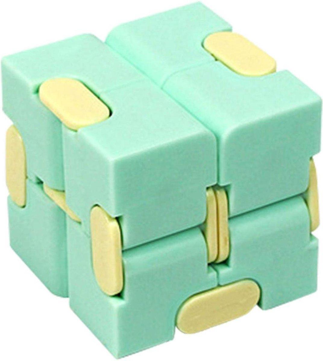 Infinite Magic Cube - Friemelkubus - Infinity Cube - Fidget gadget - Anti stress Fidget Spinner - St