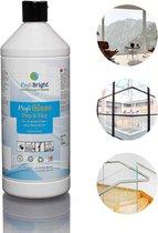 ProfiGlass Zakelijk - Glasreiniger - Interieurreiniger - Spiegelreiniger - Geen waas - HACCP - Navul - Dierproefvrij -1 liter