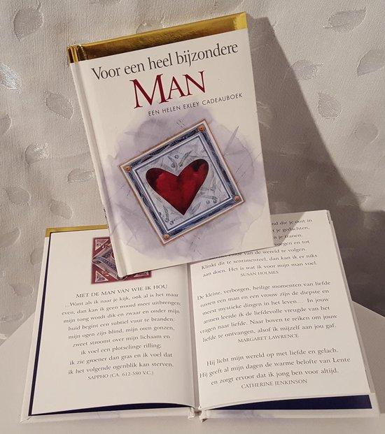LIBOZA - Boekje 'Voor een heel bijzondere man' - 56 blz - 10,5 x 15 - Cadeau - Liefde - Geluk