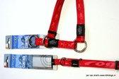 Rogz for dogs Correctie sliphalsband hond twee kleurig rood 42-60cm 2 cm L