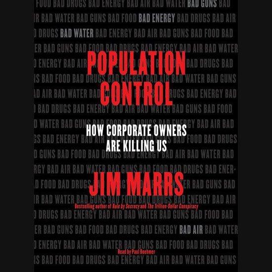 Boek cover Population Control van Jim Marrs (Onbekend)