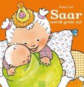 Boek cover Saar wordt grote zus van Pauline Oud (Hardcover)