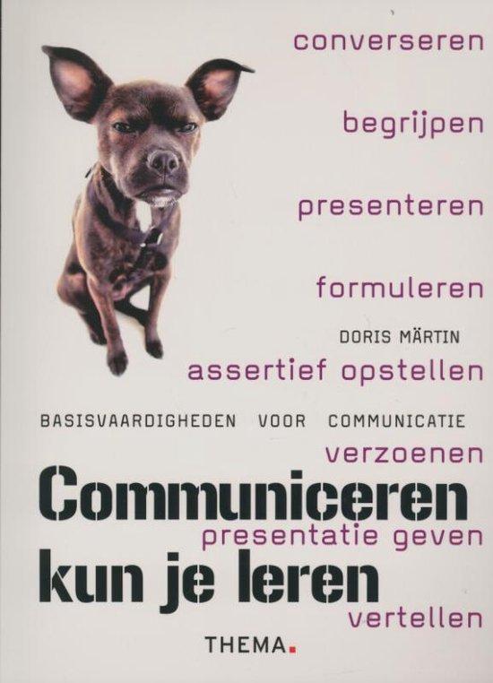 Communiceren kun je leren
