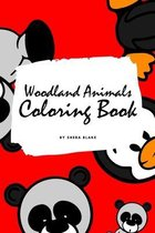 Woodland Animals Coloring Book for Children (6x9 Coloring Book / Activity Book)
