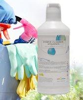 Power Cleaner Pomelo 100 % concentraat allesreiniger  1 op 10 verdunnen Kalk & Glans & Ontvetter