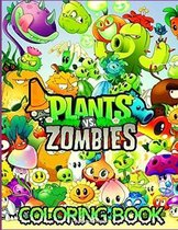 Plants Vs Zombies Coloring Book
